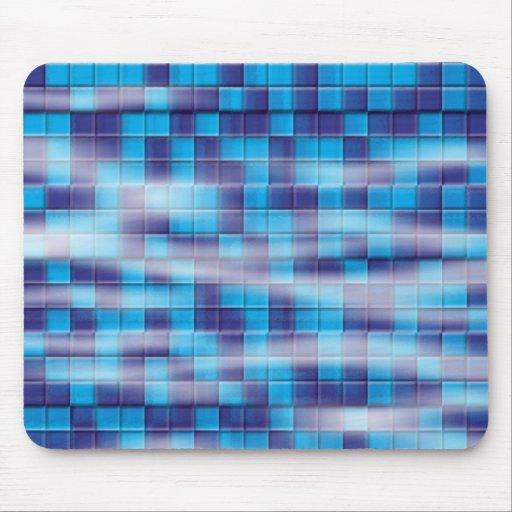 Swimming Pool Mosaic Mouse Pad