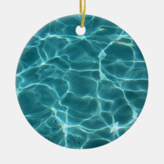 Swimming Pool Christmas Ornaments