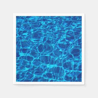 Swimming Pool Paper Napkin
