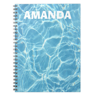 Swimming Pool Personalized Notebook