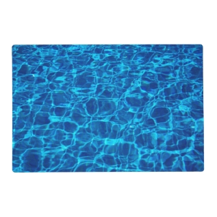 Swimming Pool Placemat at Zazzle
