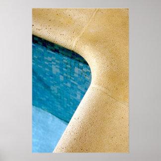 Swimming-pool Poster