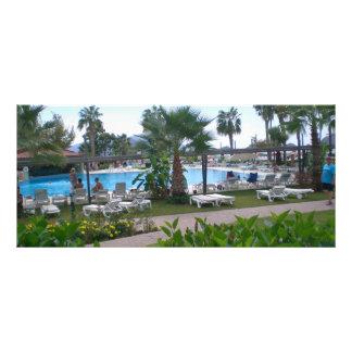 Swimming Pool Rack Card Design