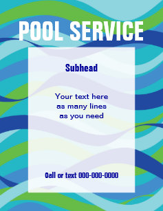 pool service flyers. Pool Service Flyers. Swimming With Custom Text Flyer Flyers