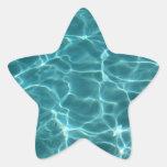 Swimming Pool Star Sticker