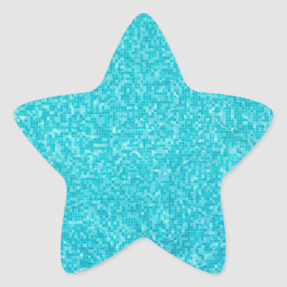 Swimming Pool Star Sticker