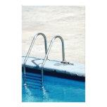 Swimming pool stationery