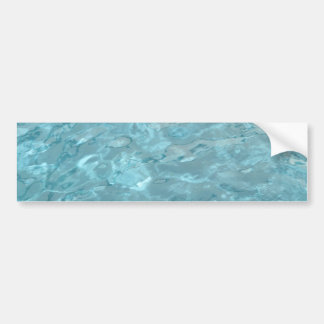 Swimming Pool Summer Abstract Bumper Sticker