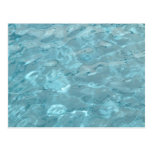 Swimming Pool Summer Abstract Postcard