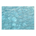 Swimming Pool Summer Abstract Template 5x7 Paper Invitation Card