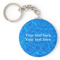 Swimming Pool Summer Theme Keychain