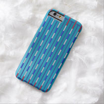 Swimming Pool Swimmer Barely There iPhone 6 Case