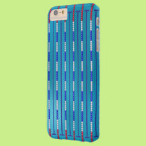 Swimming Pool Swimmer Barely There iPhone 6 Plus Case