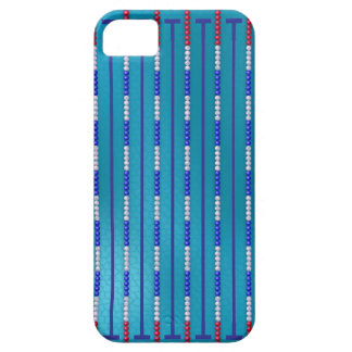 Swimming Pool Swimmer iPhone SE/5/5s Case