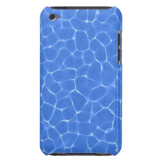 Swimming pool water caustic texture iPod touch cases