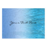Swimming Pool Water Profile Card Large Business Cards (Pack Of 100)