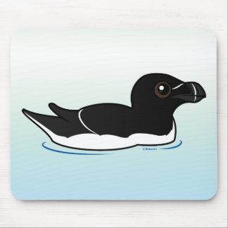 Swimming Razorbill, alternate Mouse Pad