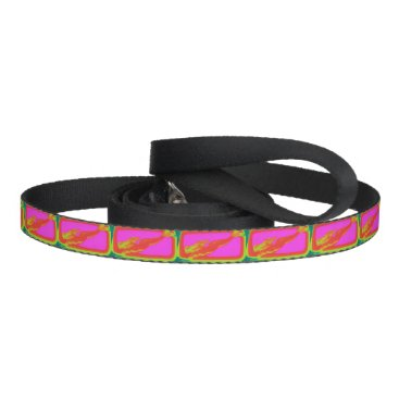 Beach Themed swimming red mermaids pet lead