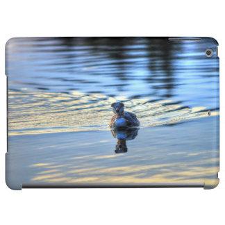 Swimming Red-necked Grebe Wildlife Birdlover Photo iPad Air Cover