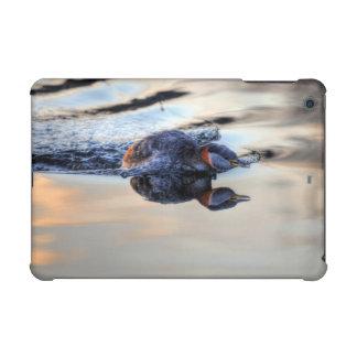Swimming Red-necked Grebe Wildlife Birdlover Photo iPad Mini Retina Case