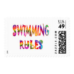 Swimming Rules Postage