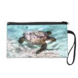 Swimming Sea Turtle Accessory Bags