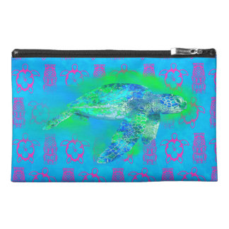 Swimming Sea Turtle Travel Accessories Bags