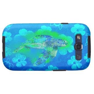 Swimming Sea Turtle Galaxy S3 Cases