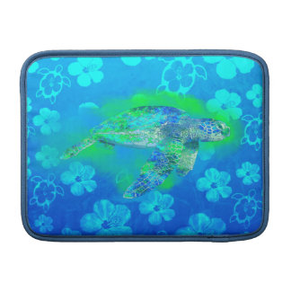 Swimming Sea Turtle MacBook Sleeve