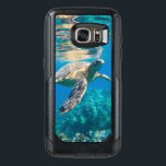 "Swimming Sea Turtle OtterBox Samsung Galaxy S7 Case<br><div class=""desc"">Underwater photograph of a sea turtle swimming in crystal clear water just below the surface.</div>"