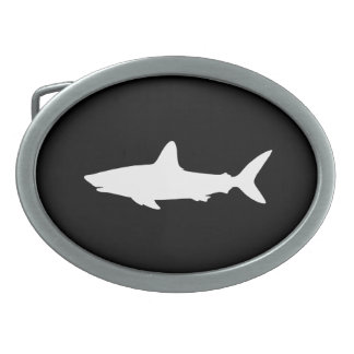 Swimming Shark Belt Buckles