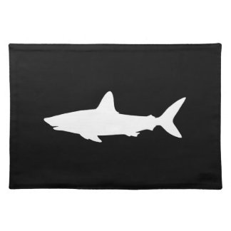 Swimming Shark Cloth Placemat