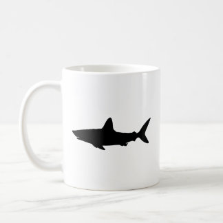 Swimming Shark Coffee Mug