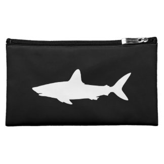 Swimming Shark Cosmetic Bag