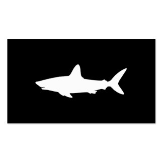 Swimming Shark Double-Sided Standard Business Cards (Pack Of 100)