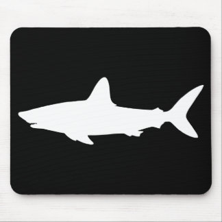 Swimming Shark Mouse Pad