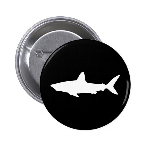 Swimming Shark Pin