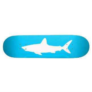 Swimming Shark Skateboard Deck