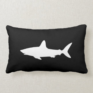 Swimming Shark Throw Pillows