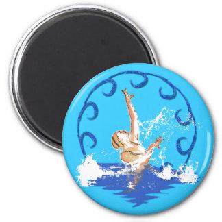 swimming sirene magnet