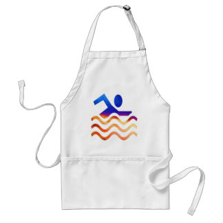 Swimming Success - Cool mind in hot times Adult Apron