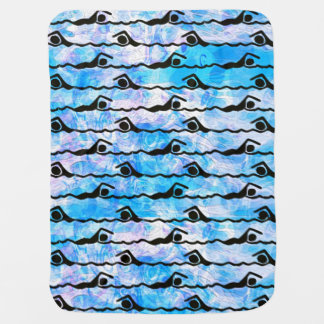 SWIMMING SWADDLE BLANKET