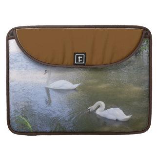 Swimming Swans MacBook Pro Sleeve