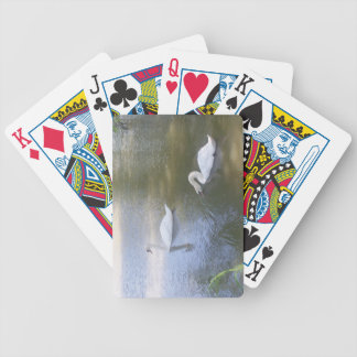 Swimming Swans Playing Cards