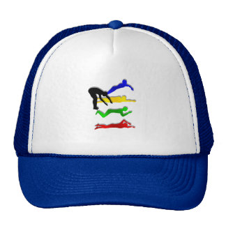 Swimming Swimmers Water Sports Swim Trucker Hat