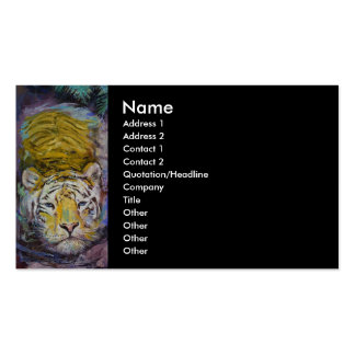 Swimming Tiger Business Cards