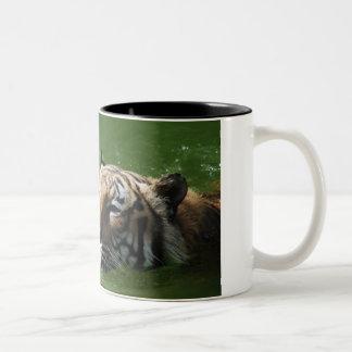 Swimming Tiger Mug