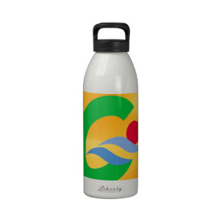 Swimming to calm and comfort water bottles