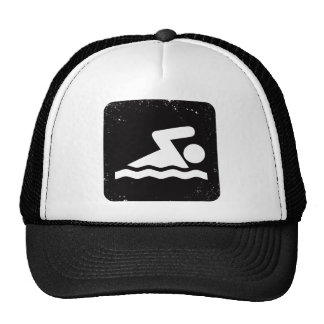 Swimming Trucker Hat
