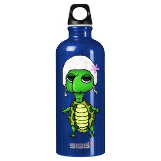 Swimming Turtle Aluminum Water Bottle